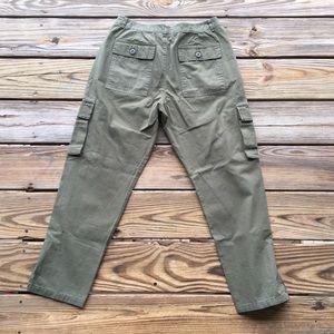Anine Bing Pants - NWT Anine Bing Military Cropped Trouser